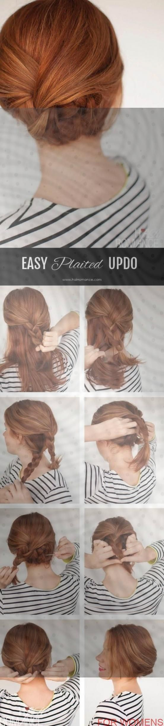 Express hairstyles for everyday life Simple and simple hairstyle - Hairstyles 2019 ... - New Site  #everyday #express #hairstyle #hairstyles