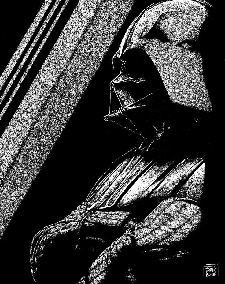 https://flic.kr/p/UNzcT7 | Darth Vader | Illustration made by dotwork, I hope you like it.  Follow mi Social Networks: Flickr:  Facebook: @FrankenstianStudio www.behance.net/frankenstian Instagram: @frankenstian Twitter: @frankenstian