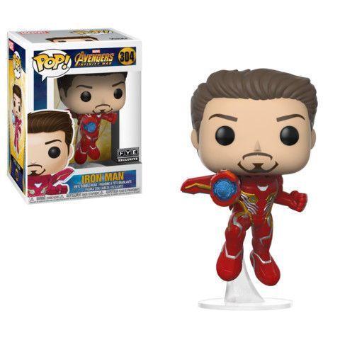 Infinity Manunmasked Iron PopMarvel War Avengers Funko Fl1KcTJ