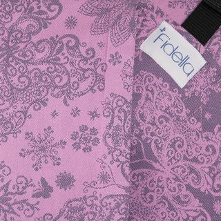 Fidella Onbuhimo back carrier -Iced Butterfly - violet -  https://fidella.org/en/fidella-onbuhimo-back-carrier-iced-butterfly-violet