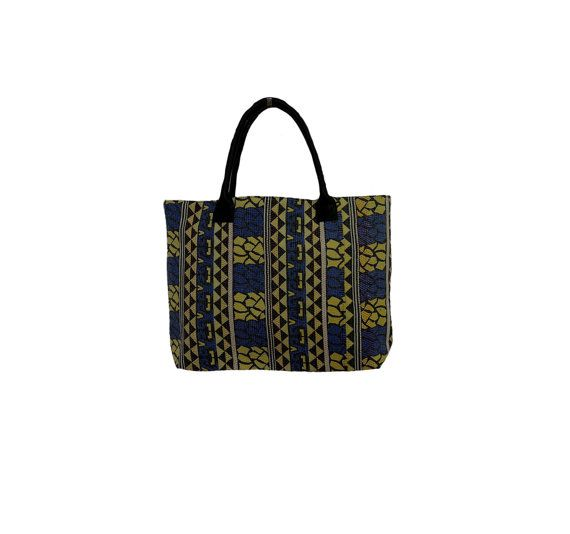 Indian Traditional Vintage Kantha Tote Bag Hand by MyCraftPalace