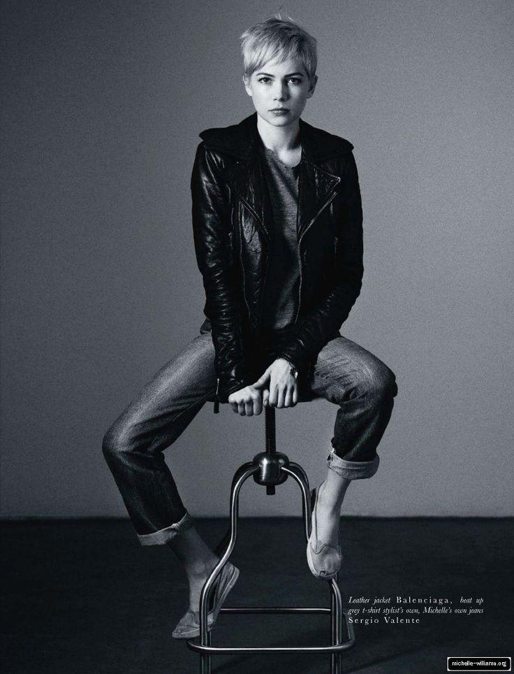Michelle Williams in Hobo Magazine