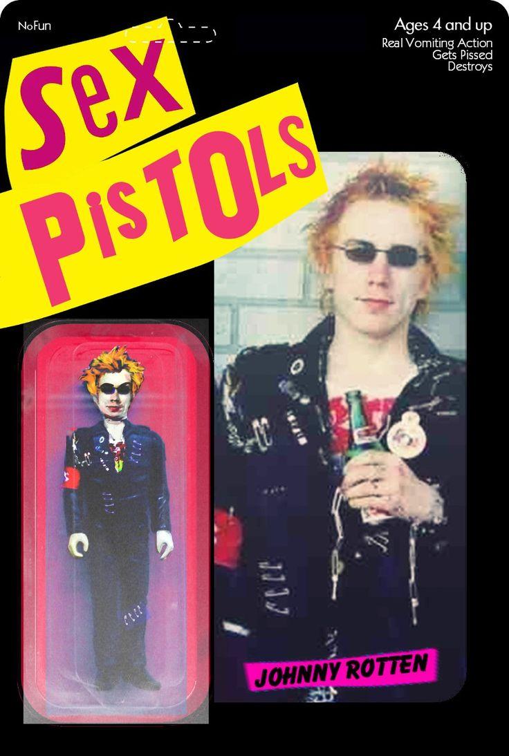 Sex pistols johnny rotten action figure