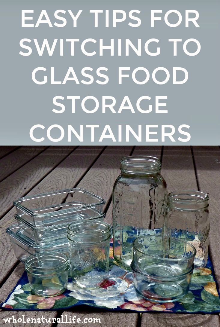 How to switch to glass food storage containers | Glass storage containers | Kitchen storage containers