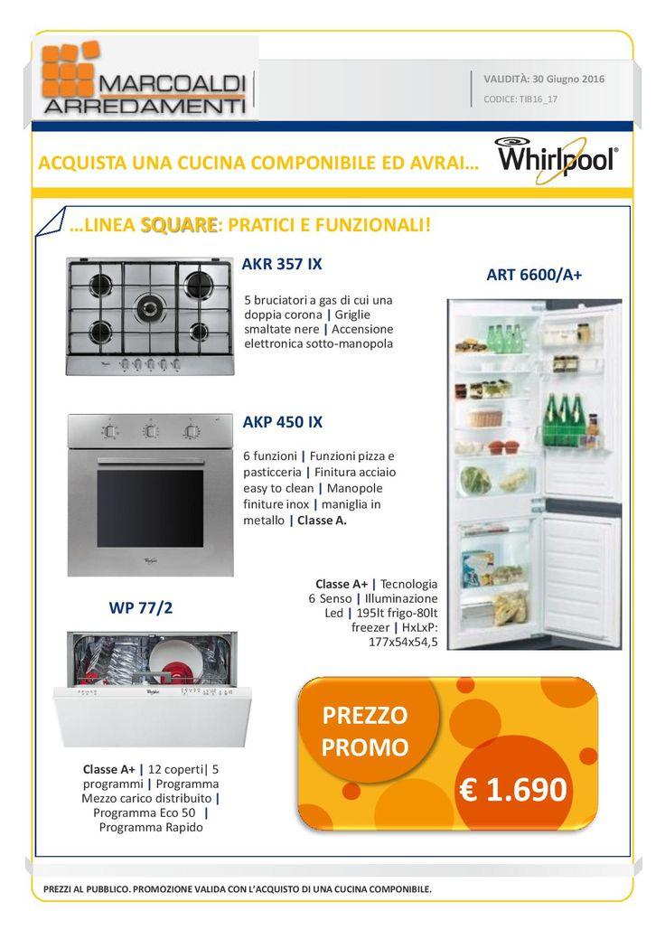 grande promozione sugli elettrodomestici marcoaldiarredamenti fino al 30 giugno acquistando una cucina
