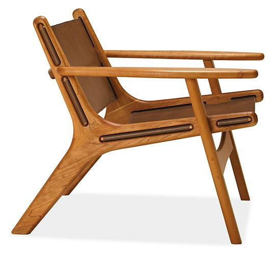 Lars Leather Lounge Chair - Recliners & Lounge Chairs - Living - Room & Board