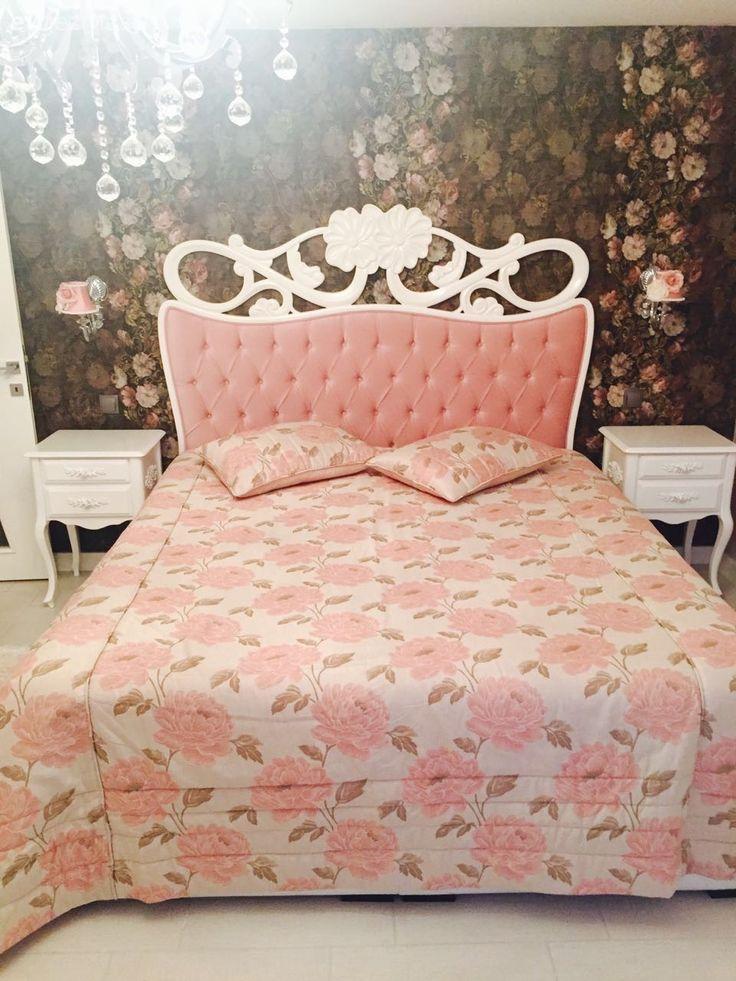 Duvar kağıdı, Pembe, Yatak Odası, Yatak örtüsü