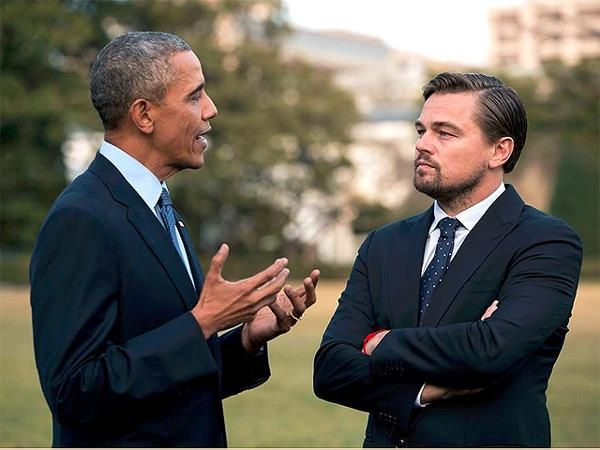 When 'The Revanant' met the President! Obama DiCaprio team up against climate change - Economic Times