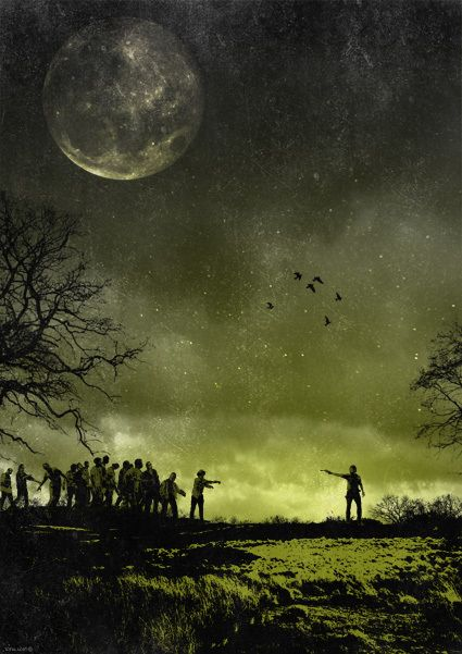 GeeksNGamers : The Walking Dead Posters - Created by Rany Atlan ...