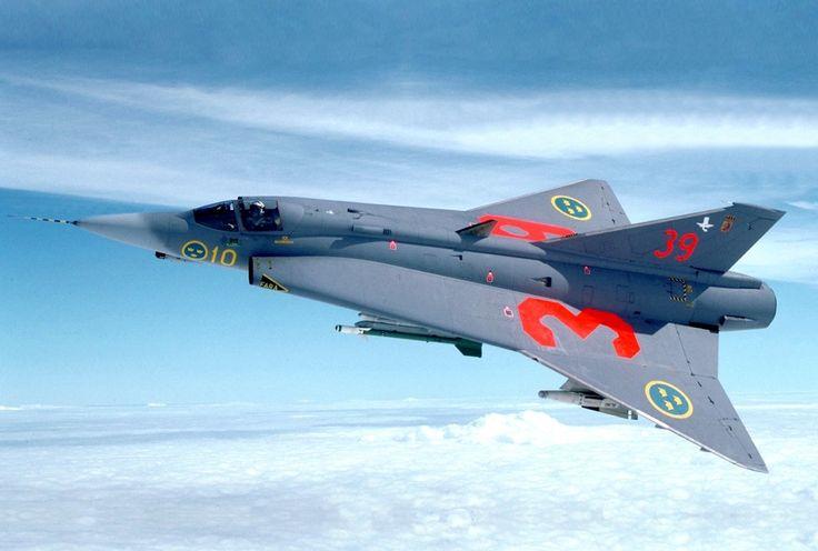 "Royal Swedish Air Force Historical Flight SAAB J-35 ""Draken"""