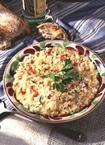 Risotto with Corn and Roasted Peppers | Recipe
