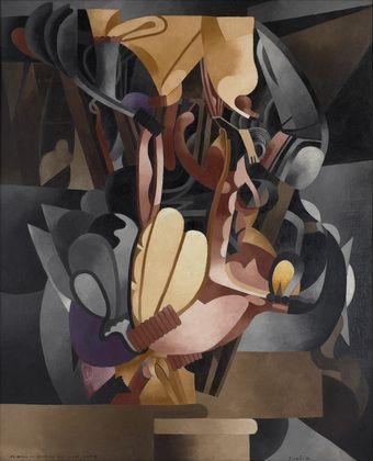 Francis Picabia. I See Again in Memory My Dear Udnie. 1914, possibly begun 1913
