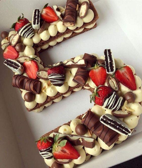 Pasteles #en #forma #de #números #number #cake