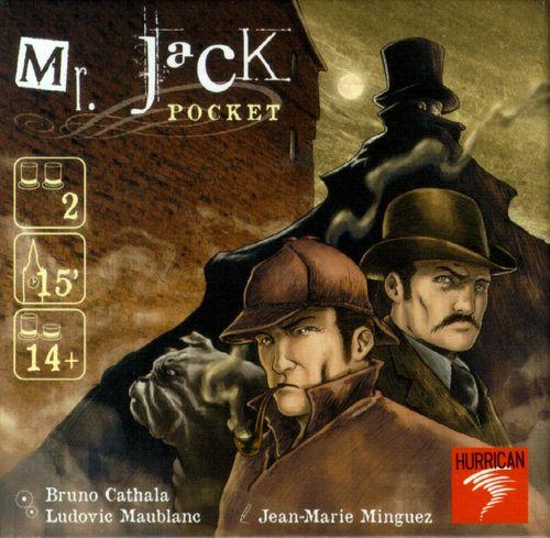 Jeu de société Mr Jack Pocket. 2 joueurs Boutique Randolph - Livraison 10$ partout au Québec, 15$ partout au Canada et gratuite à l'achat de 200$ et +.