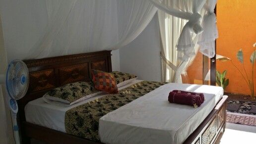 BUNDAKU HOMESTAY Big bedroom with open kitchen. Perfect for staying long long time in Bali!