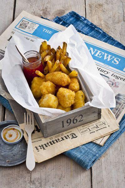 Fish 'n chips uit Nieuw Zeeland