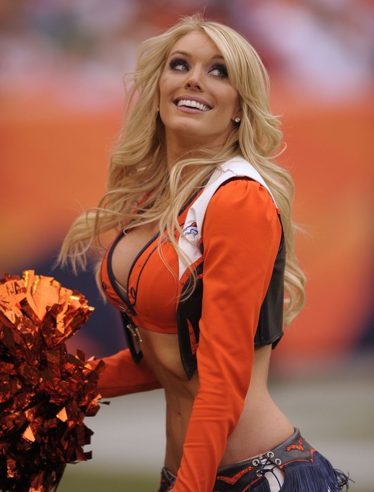 More Sexy bronco cheerleaders nude quite good