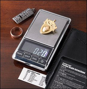 Precision Pocket Scale - Gardening