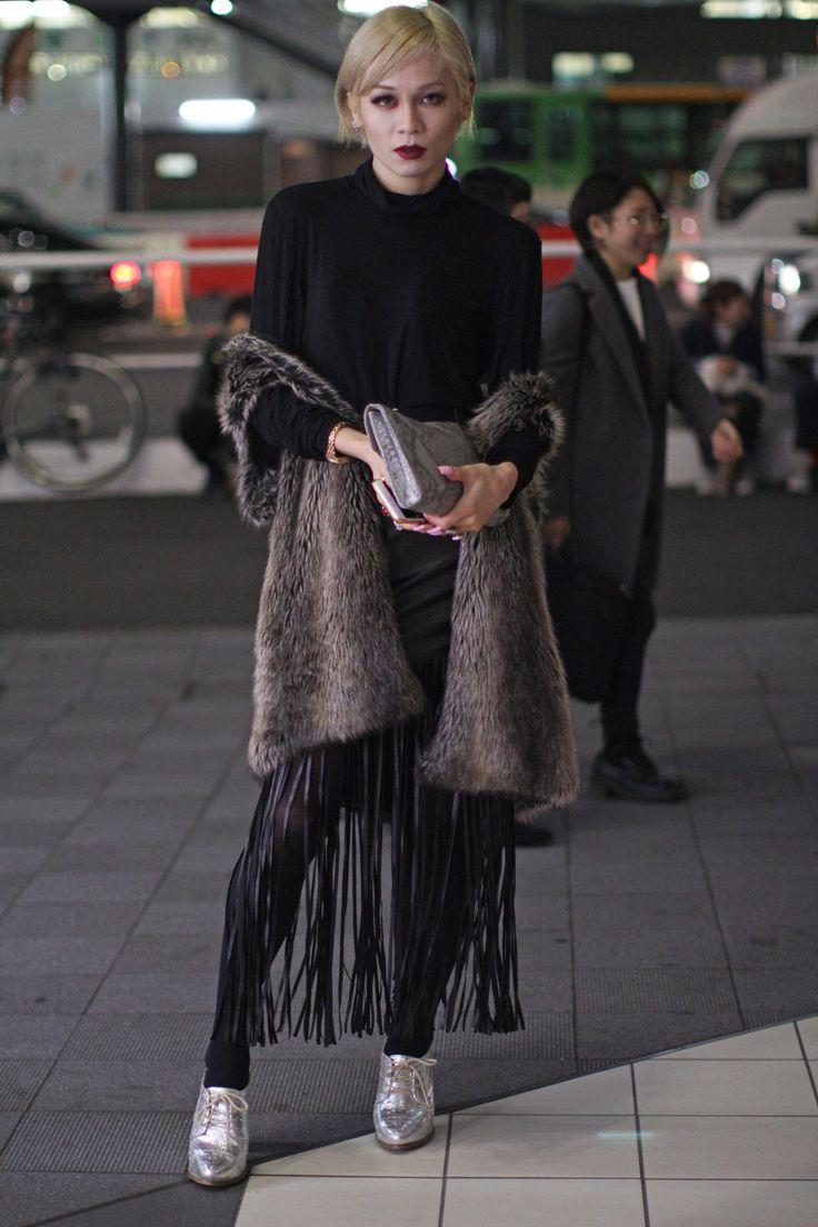 Tokyo Fashion Week Fall 2016 street style #MBFWT [Photo: Onnie A. Koski]