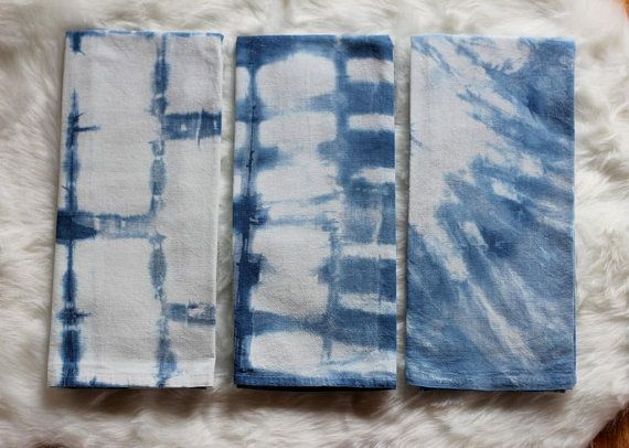 Bulk Listing Tea Towels Baby Shower Indigo Party Favor Beach