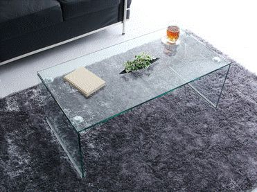 おしゃれなガラステーブル!シンプル&クール!簡単組立 おしゃれ ガラステーブル