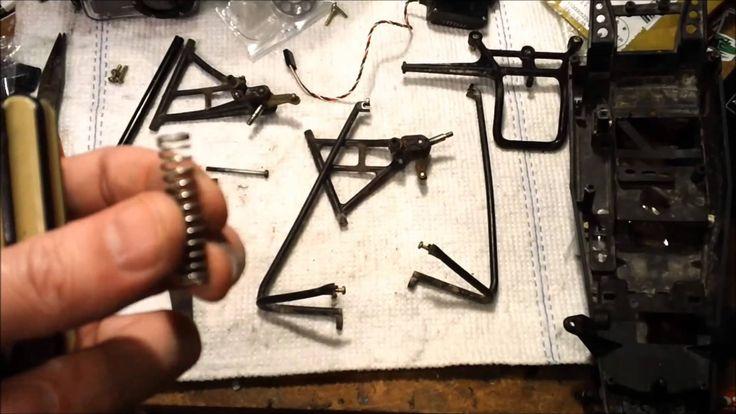 Tamiya Hornet Build part 1
