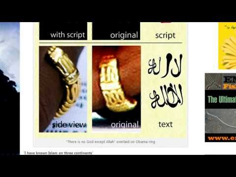 """http://pinterest.com/pin/7248049374320097/ http://pinterest.com/pin/7248049374100017/ BUSTED! OBAMA'S RING SAYS 'THERE IS NO GOD BUT ALLAH! - """"Dahboo77? Freak. E.T. says: (You know something? You're one lying freak. You're always jumping the gun and never get your facts straight. You say your eyes are open? But they're up your asshole. You can't see up there! And as for impeaching Obama? Not in your lifetime, freak. Eyes open to that. You're no daisy at all. lmao =))"""""""