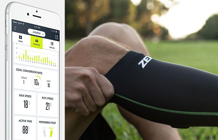The release of the Zepp Play Soccer sensor is simply excellent news for players and coaches.. #WearableTechnology #Football #Soccer