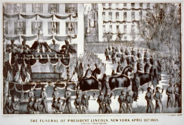 Lincoln's Traveling Funeral: Funeral at Union Square