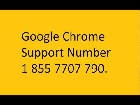 google chrome support number 1 855 7707 790.