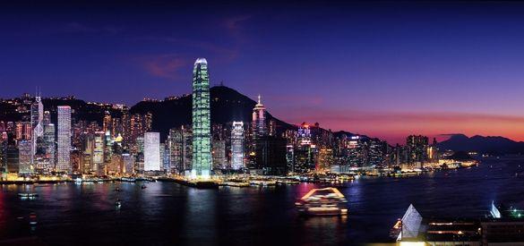 Hong Kong Harbor, Hong Kong dennis888
