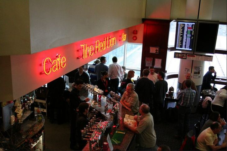A Wetherspoon in Gatwick Airport.
