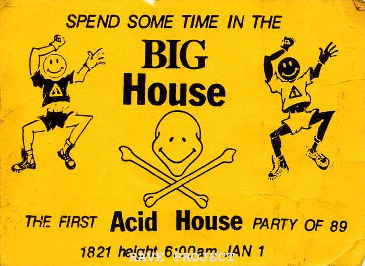 13 best images about classic rave and club flyers on for Acid house tracks