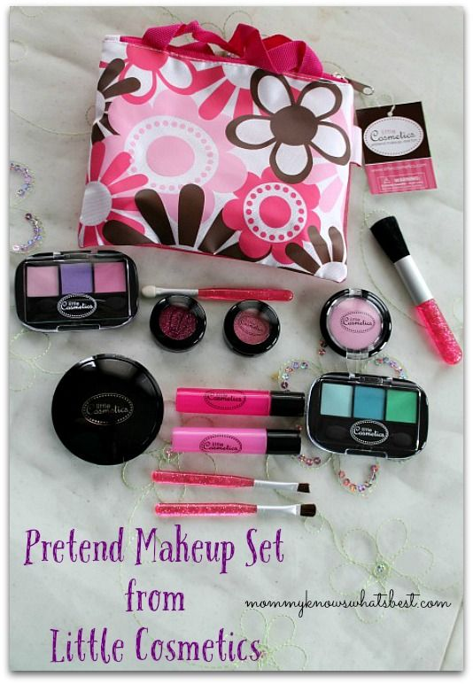 Pretend Makeup Set from Little Cosmetics Review - Great for Little Girls!