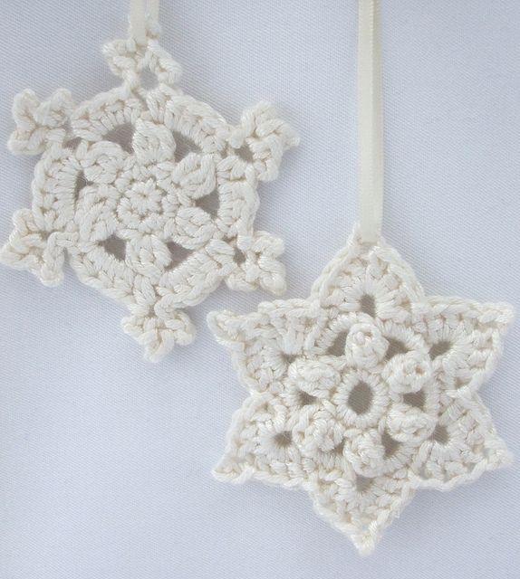 51 best Snowflake Crochet Patterns images on Pinterest   Crochet ...