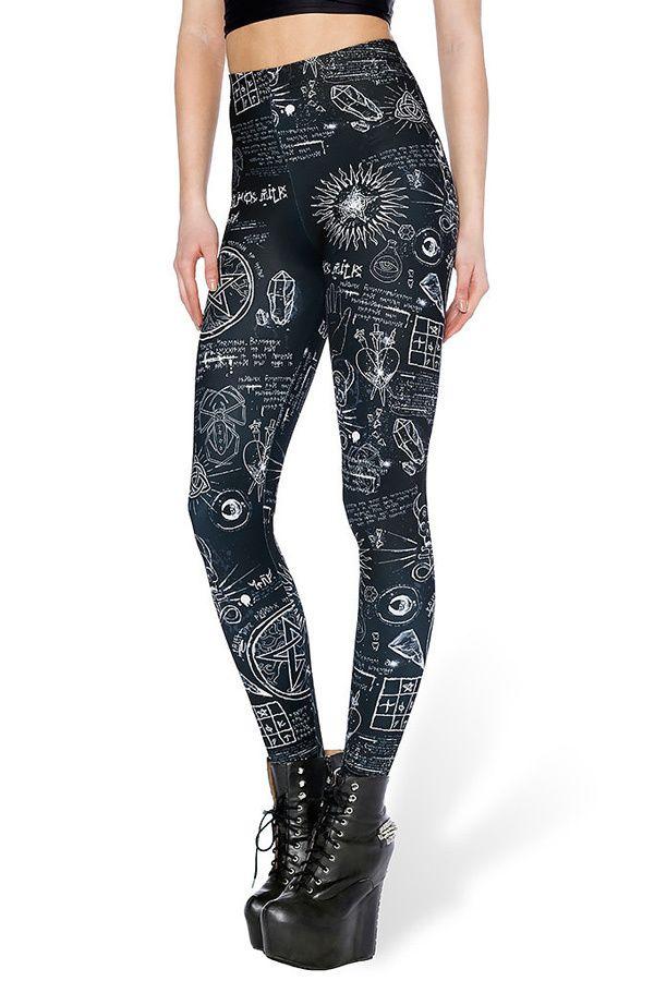 Skeleton Scan Leggings  | $25 at OnlyLeggings.com #OnlyLeggings