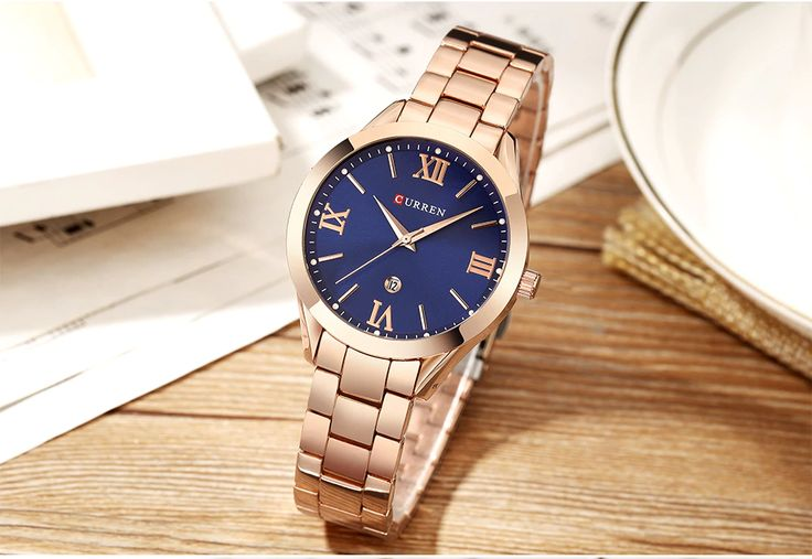 CURREN Gold Watch Women Watches Ladies Creative Steel Women's Bracelet Watches Female Clock Relogio Feminino Montre Femme-in Women's Watches from Watches on Aliexpress.com | Alibaba Group