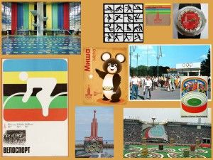 1980 Look dos jogos Jogos Olímpicos de Verão de Moscou-1980