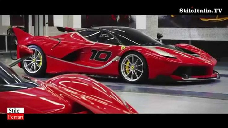 """""""Stile Ferrrari"""" -  """"Ferrari"""" FXX K - """"The making of""""  -  """"Italian Excel..."""