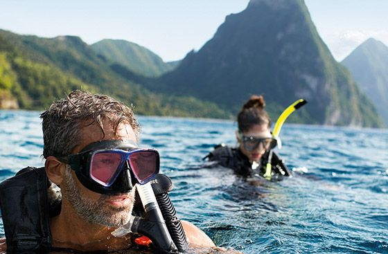 Scuba Diving In St Lucia - Coconut Bay St Lucia Excursions & Tours