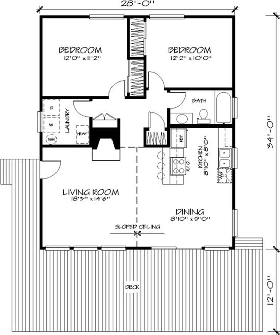 76 best images about cabin floor plans on pinterest for 32x32 house plans
