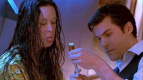 River and Simon < I love her face in this scene. She's been through so much and had needles shoved in her head but she still trusts her brother to help her even though she's not a fan of the method.