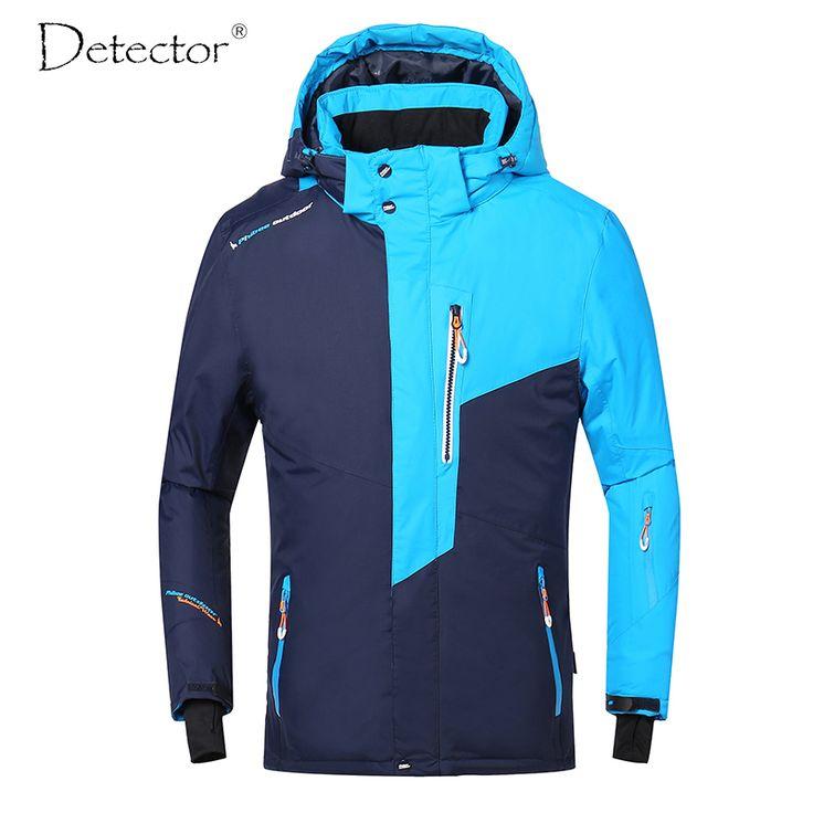 Men Ski Jacket Winter Snowboard Suit Men's Outdoor Warm Waterproof Windproof Breathable Clothes