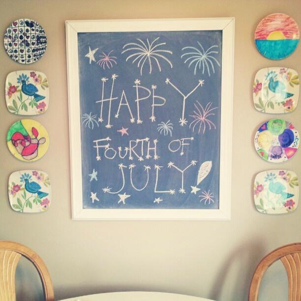 Summer Chalkboard Design. Summer ChalkboardChalkboard CalendarKitchen ...