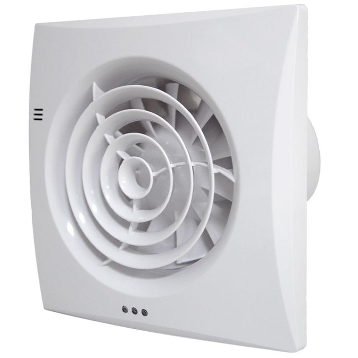 Ceiling Mounted Bathroom Extractor Fan With Timer