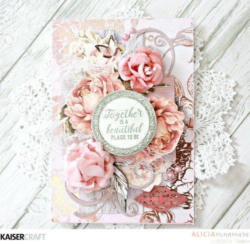 Kaisercraft Sage and Grace Card by Alicia McNamara