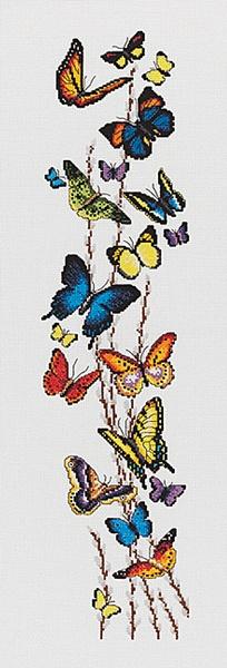 Bountiful Butterflies - Cross Stitch Kit