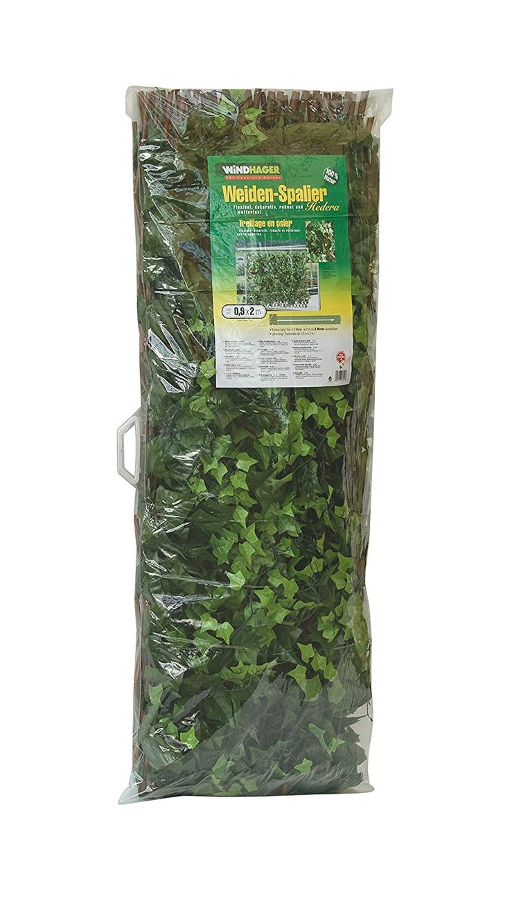 Windhager Willow 06499 Sichtschutzhecke Hedera / 1 x 2 M ** You can get more details by clicking on the image. #GardenFurnitureandAccessories