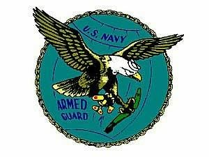 U.S.Navy Armed Guard Logo,WWII.