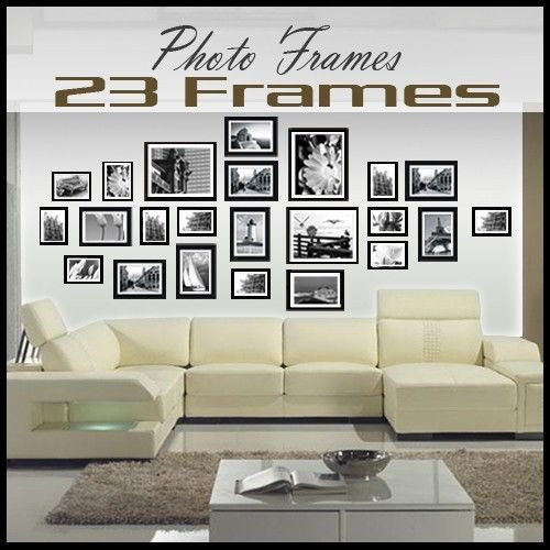 25 best ideas about multi picture photo frames on for Multi frame wall art